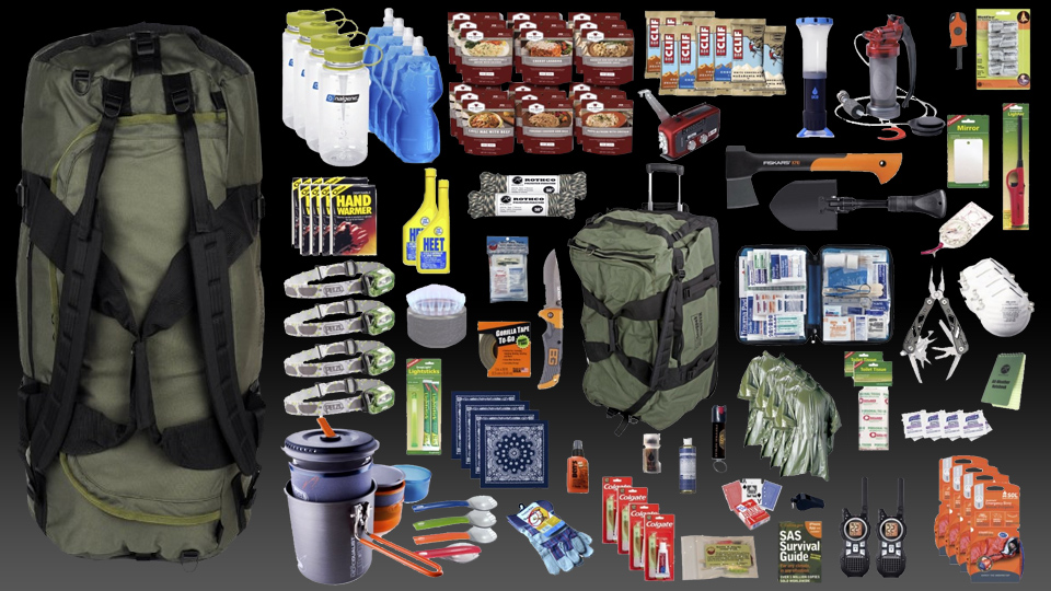 72 Hour Preppers Bug Out Bag