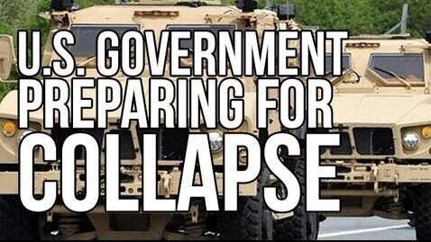 us government prepares for collapse