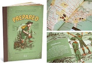 vintage book for preppers